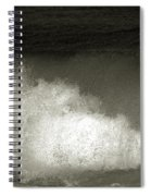 Great Wave For Surfers Spiral Notebook