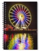 Great Wheel 189 Spiral Notebook
