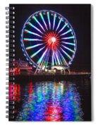 Great Wheel 199 Spiral Notebook