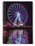 Great Wheel B Spiral Notebook