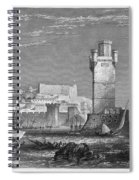 Greece: Rhodes, C1850 Spiral Notebook