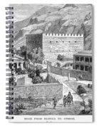 Greece: Road To Athens Spiral Notebook