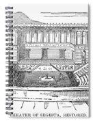 Greece: Theater Of Segesta Spiral Notebook