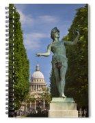Greek Actor Spiral Notebook