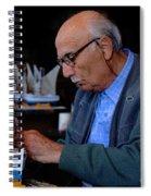 Greek Artist Mykonos Spiral Notebook