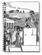 Greek Assembly Spiral Notebook