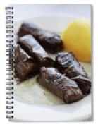 Greek Dolmades Spiral Notebook