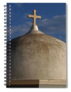 Greek Domo Spiral Notebook