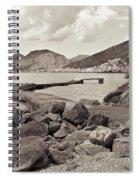 Greek Harbour Spiral Notebook