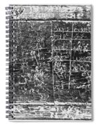 Greek Multiplication Table Spiral Notebook