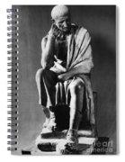 Greek Philosopher Spiral Notebook