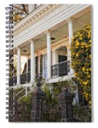 Greek Revival And The Tiny Pink Shoe - Garden District New Orleans Spiral Notebook