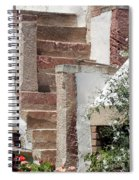 Greek Staircase Patmos Spiral Notebook