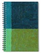 Green And Blue Spiral Notebook