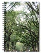Green Arches  Spiral Notebook