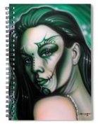 Green Beauty Spiral Notebook