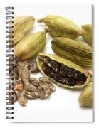 Green Cardamom Spiral Notebook