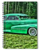Green Classic Hdr Spiral Notebook