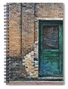 Green Doors Spiral Notebook