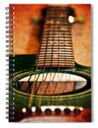 Green Gibson Spiral Notebook