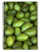 Green Olives Spiral Notebook