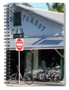 Green Parrot Bar In Key West Spiral Notebook