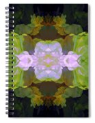Green Peony Extreme Spiral Notebook