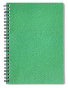 Green Textile Spiral Notebook