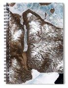 Greenland Sea Ice Spiral Notebook