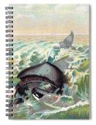 Greenland Whale Spiral Notebook