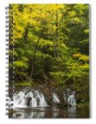 Greenstone Falls 4 Spiral Notebook