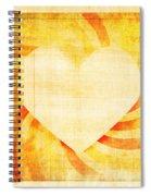 greeting card Valentine day Spiral Notebook