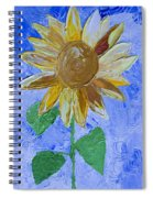 Greetings To Autumn Spiral Notebook