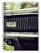 Grilled Cougar Spiral Notebook