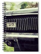 Grilled Cougar Spiral Notebook