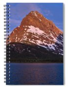 Grinnel Point At First Light Spiral Notebook