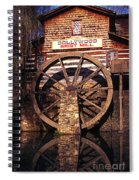 Grist Mill In The Smokies Spiral Notebook