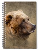 Grizzly Portrait Spiral Notebook