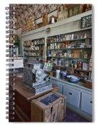 Grocery Store Of Yesteryear - Virginia City Montana Ghost Town Spiral Notebook