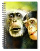 Growing Old Together Spiral Notebook