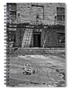 Growing Up...an Economics Tale Bw Spiral Notebook