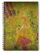Grunge Background 4 Spiral Notebook