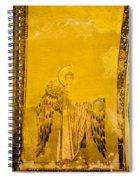 Guardian Angel Byzantine Art Spiral Notebook