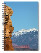 Guardian Of Arches Spiral Notebook