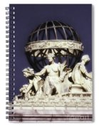 Guardians Of The Law Spiral Notebook