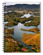 Guatape Spiral Notebook