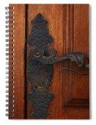 Guatemala Door Decor 5 Spiral Notebook