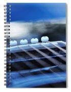 Guitar Abstract 4 Spiral Notebook