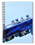 Guitar Abstract 5 Spiral Notebook