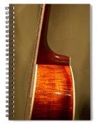 Guitar Wood Grain Exposed Spiral Notebook
